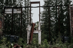 Разрушенный музей-Пантеон Сталина